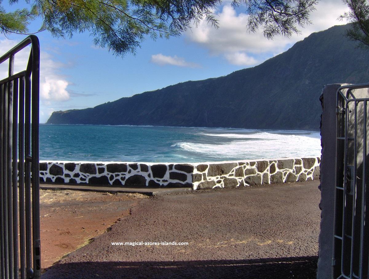 At Praia do Norte, Faial, Azores
