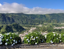 Azores Islands, Furnas lookout in San Miguel