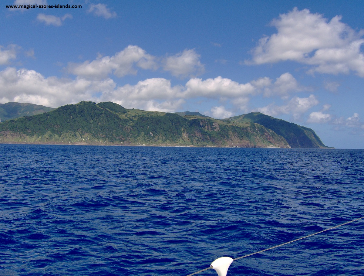 The south coast of Sao Miguel Azores
