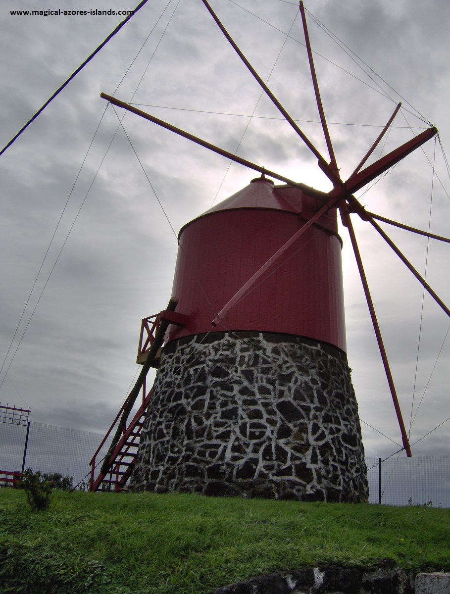 A windmill in Faial