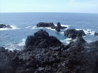 volcanic rocks - Frank and Gails Azores Photo Gallery