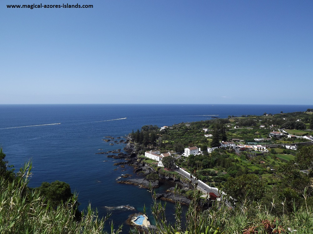 Caloura, Sao Miguel, Azores. A pretty fishing port and village on the south coast