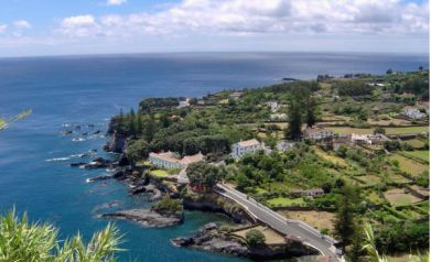 Magical Azores News letter - picture overlooking Caloura