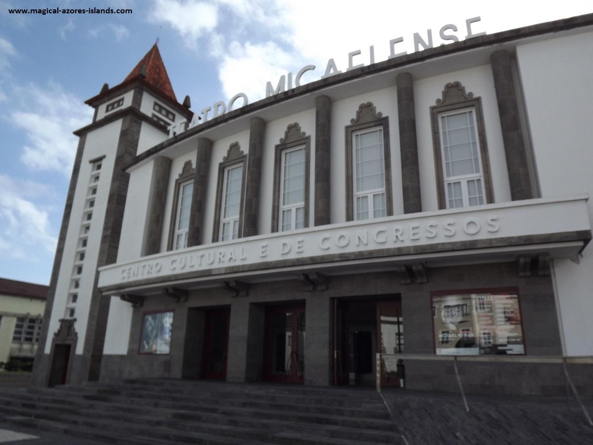 Theatre Micalense in Ponta Delgada  Sao Miguel, Azores