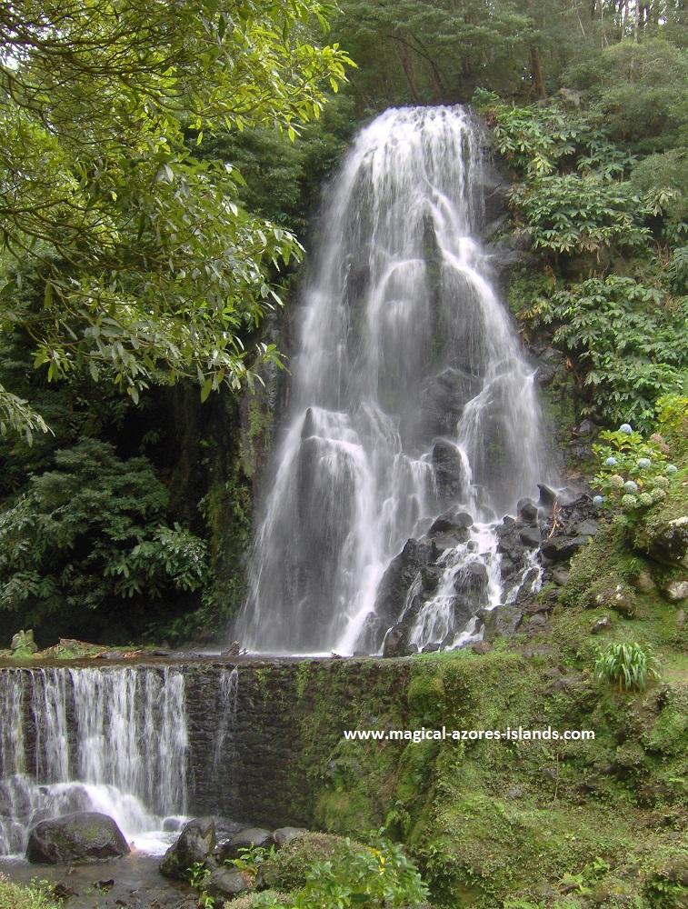 Azores Photos - Ribeira dos Caldeiros, a park located near Achadinha in Sao Miguel