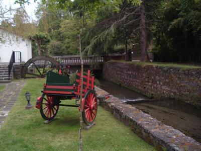 Furnas Water Wheel and Cart