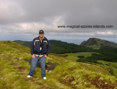 Hiking Near Sete Cidades