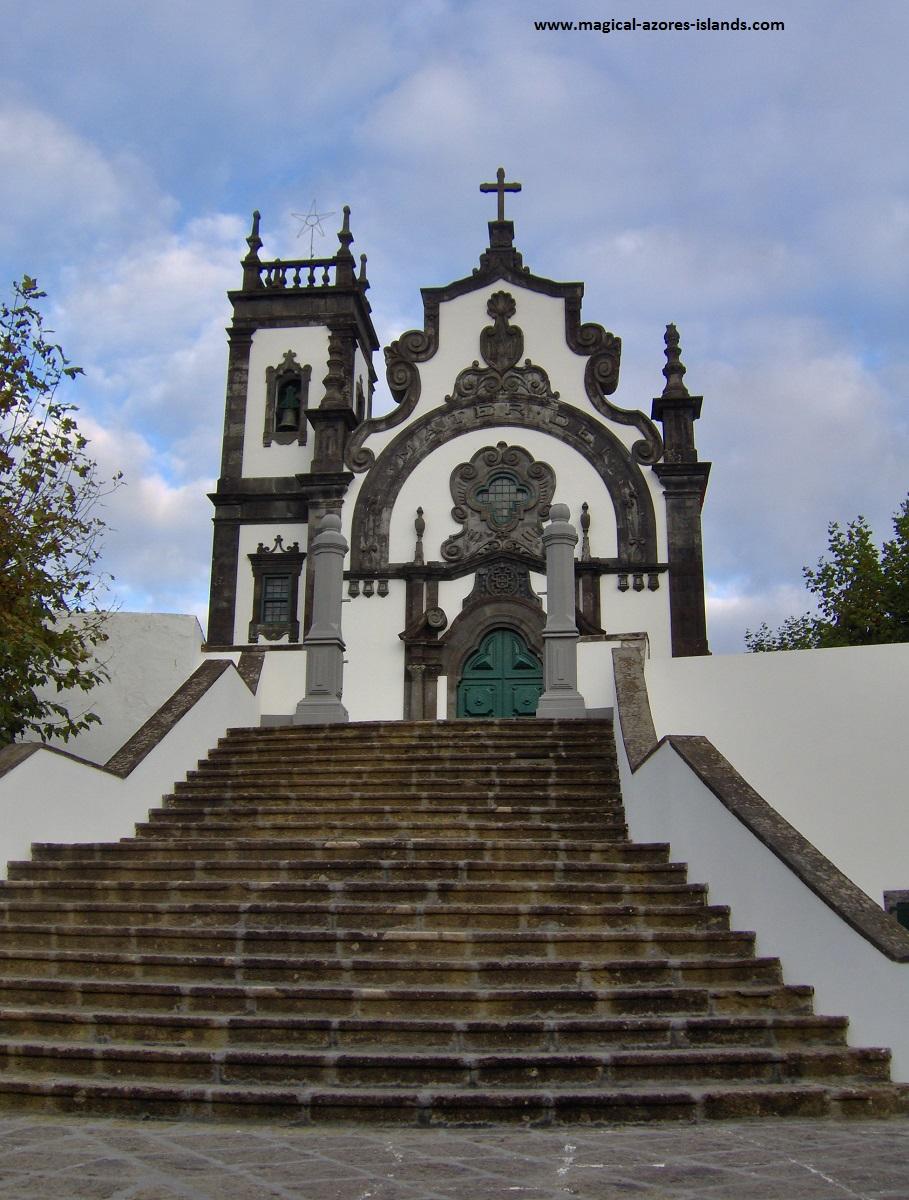 Mae de Deus Church in Ponta Delgada, Sao Miguel, Azores
