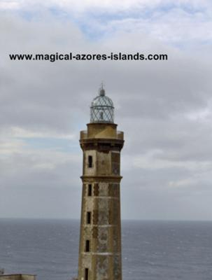 The Capelinhos Lighthouse, Faial Azores