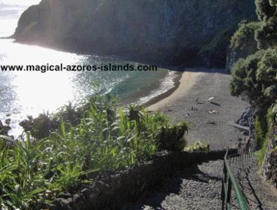 Caloura Beach