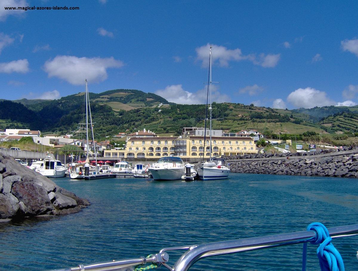 Azores Sailing - Vila Franca do Campo Marina