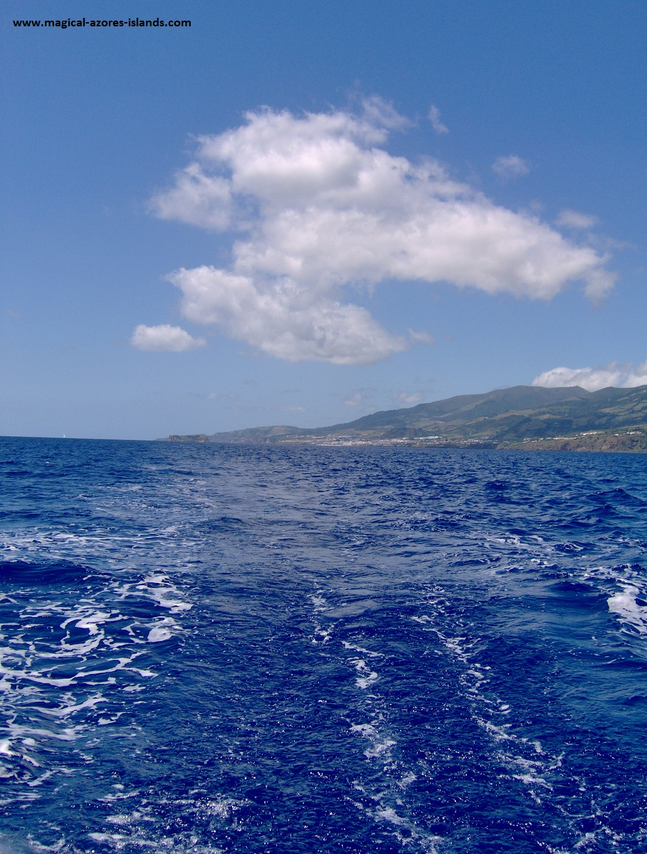 Sailing in the Azores