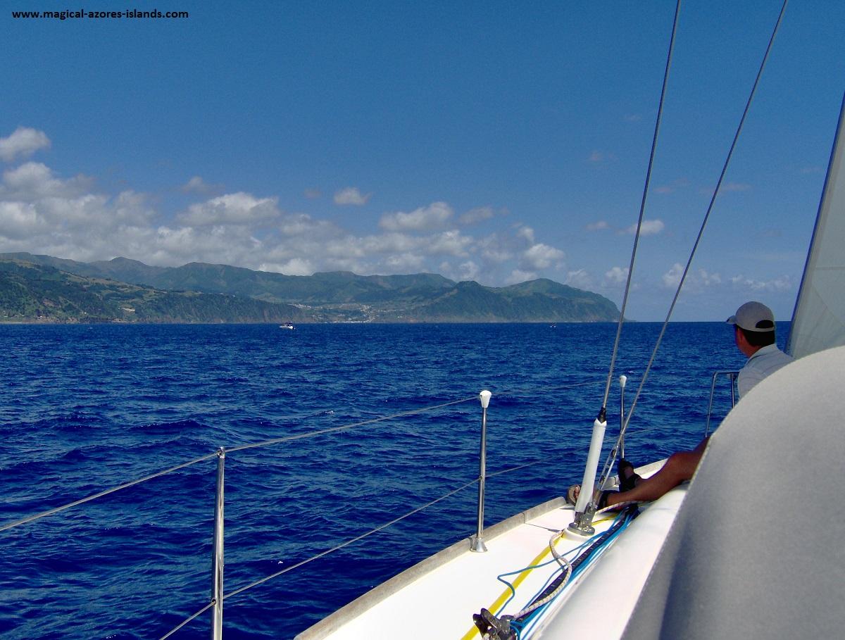 Azores sailing