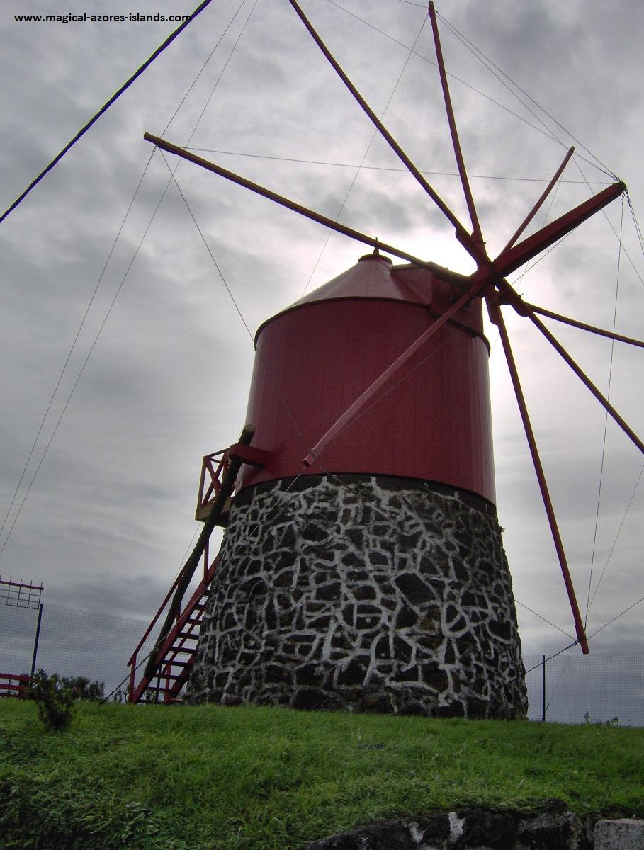 A windmill in Faial