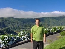 Here I am high above Furnas