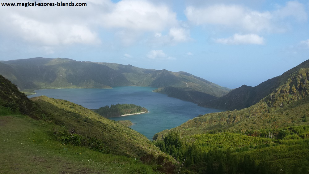 Lagoa do Fogo is a must see in Sao Miguel Azores