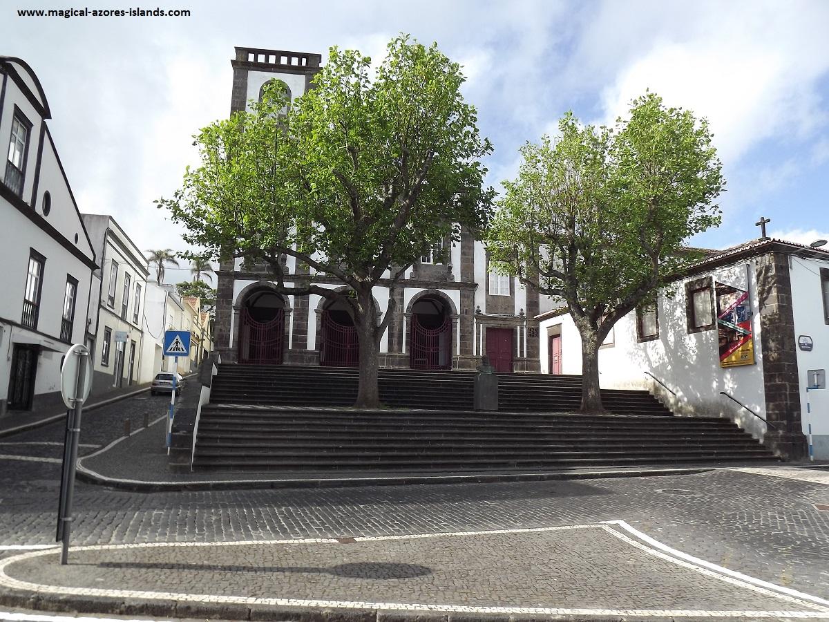A Church in Ponta Delgada, Sao Miguel, Azores