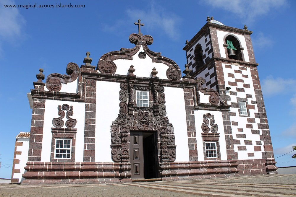 Church in Santa Maria Azores