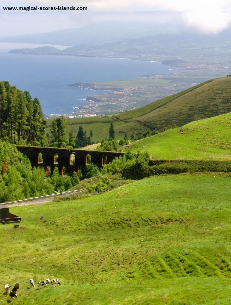 Azores Photos- An aqueduct in Sao Miguel