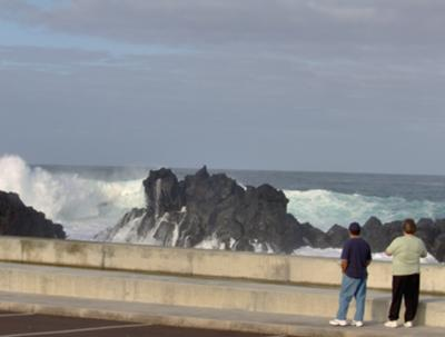 Watching the Waves in Capelas